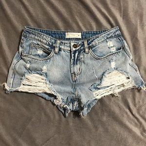 Angel Kiss Cut Off shorts (5)